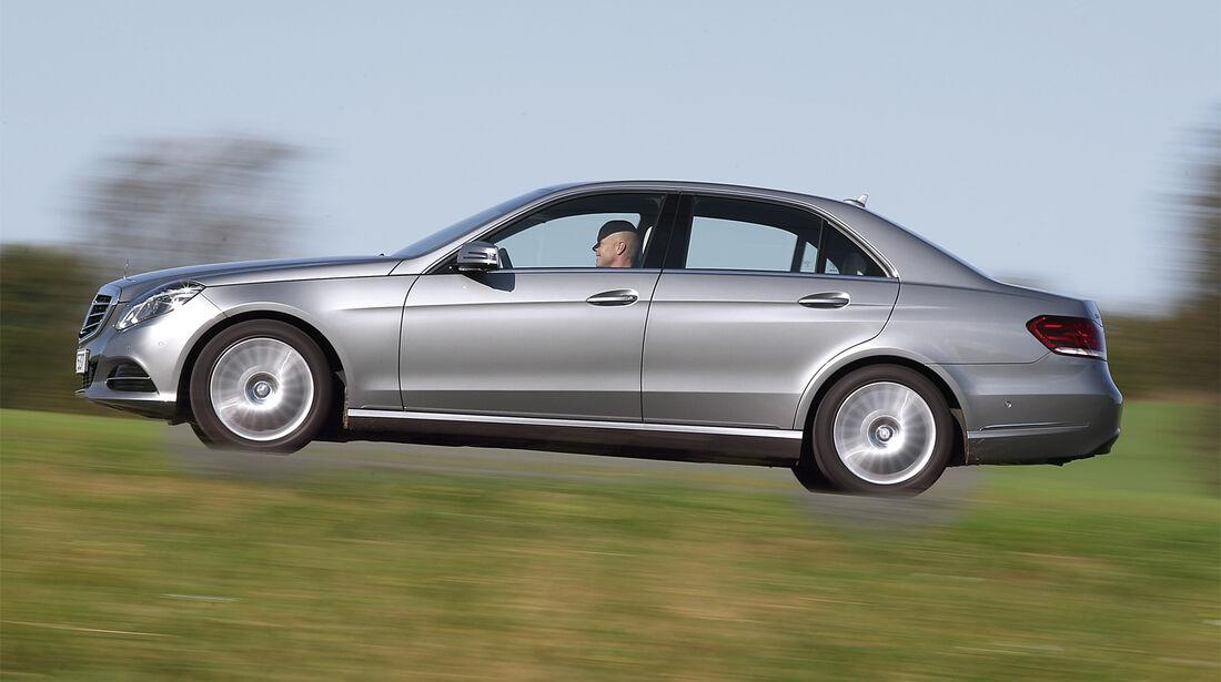 Mercedes E 250 Bluetec, Seitenansicht