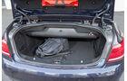Mercedes E 300 Cabrio, Kofferraum