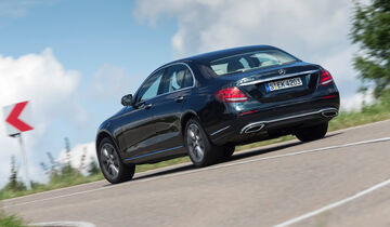 Mercedes E 350 d Exclusive, Heckansicht
