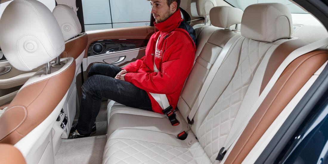 Mercedes E 350 d, Fondsitze