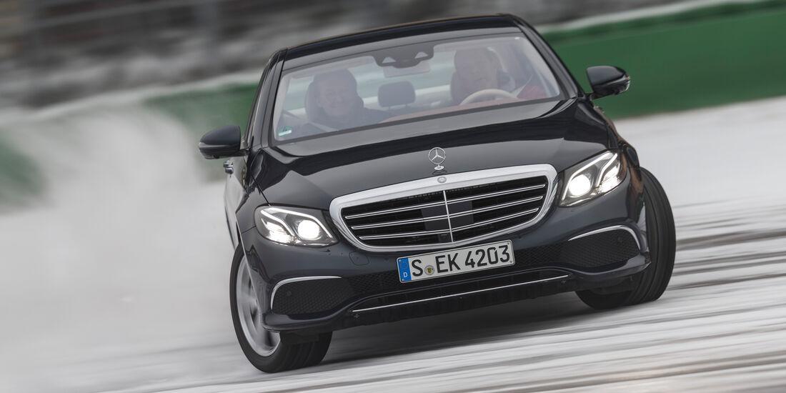 Mercedes E 350 d, Frontansicht