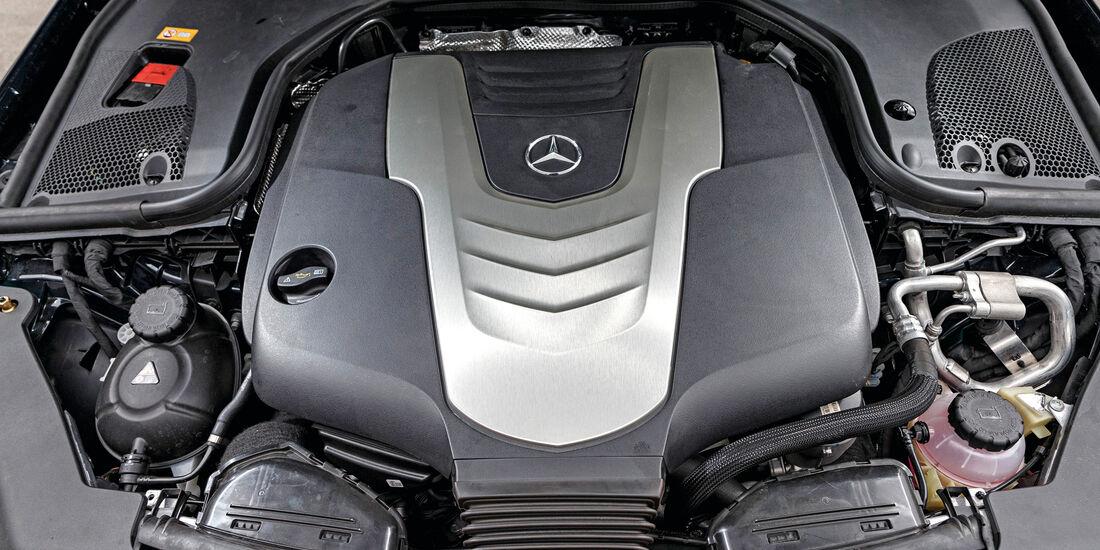 Mercedes E 350 d, Motor
