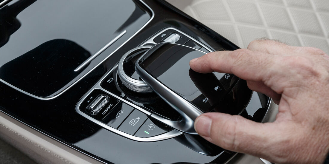 Mercedes E 350 d, Zentralinstrument