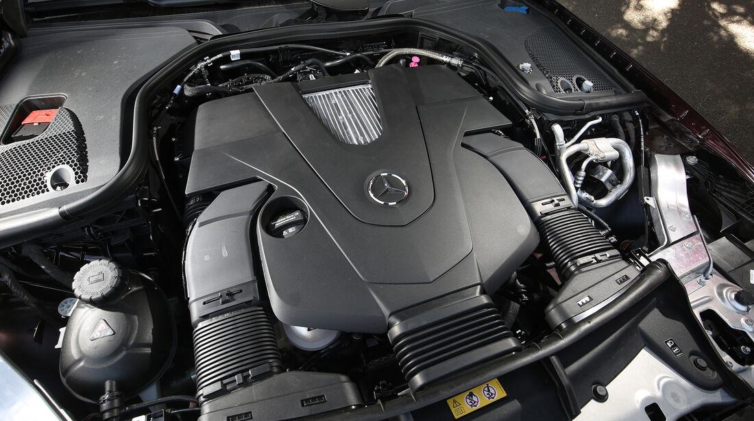 Mercedes, E 400 Cabrio, Motor