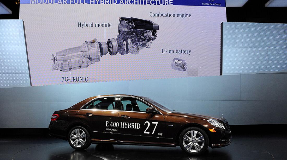 Mercedes E 400 Hybrid