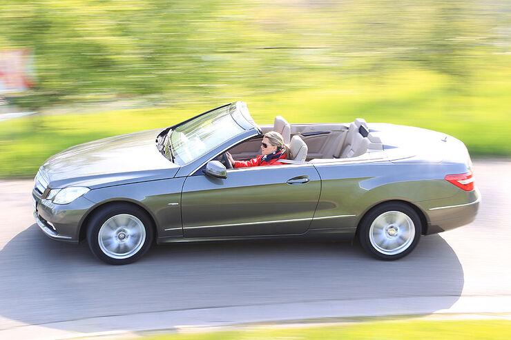 mercedes e 220 cdi cabrio im fahrbericht auto motor und. Black Bedroom Furniture Sets. Home Design Ideas