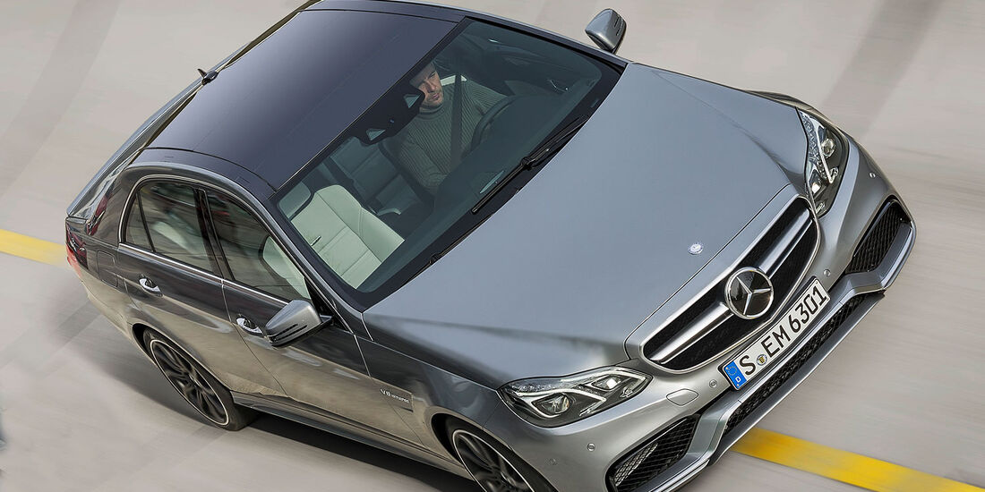 Mercedes E-Klasse E 63 AMG Vorab