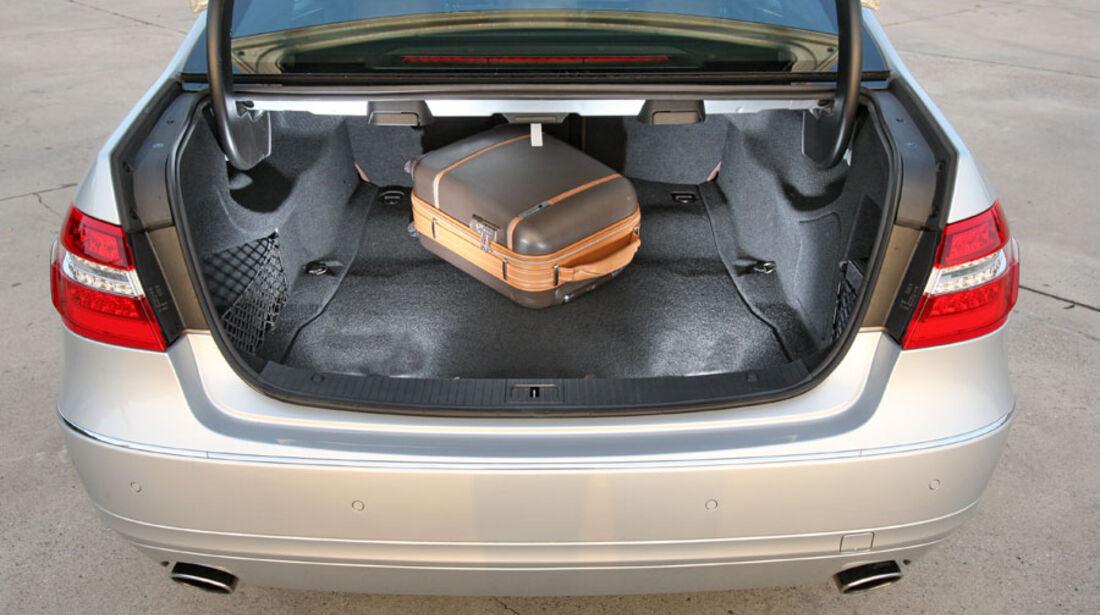 Mercedes E-Klasse, Kofferraum
