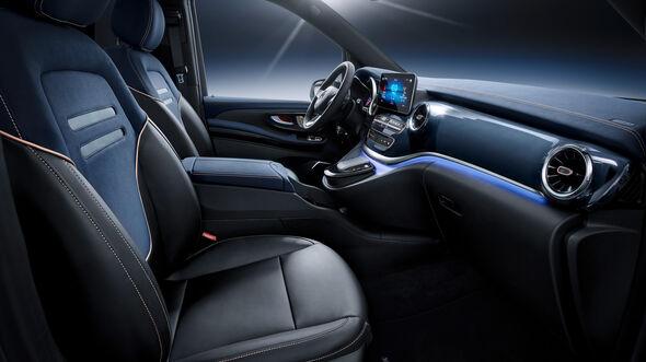 Mercedes EQV Elektro V-Klasse 2019 Genf Autosalon