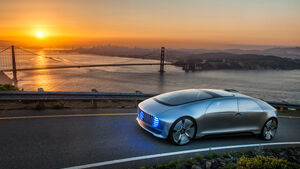 Mercedes F 015, Impression, San Francisco