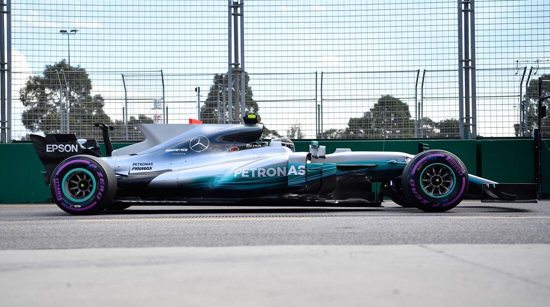 Mercedes - F1-Abmessungen - 07/2017