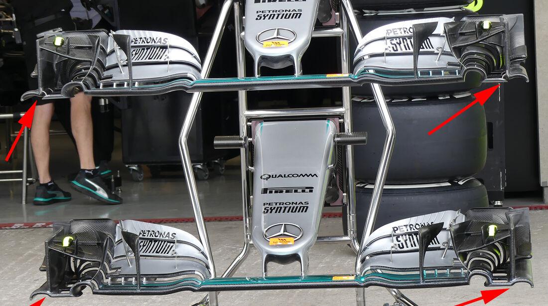 Mercedes - F1 Technik - GP Mexiko 2016