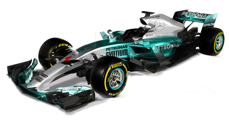 Mercedes - Formel 1 2017 - Designs - Sean Bull