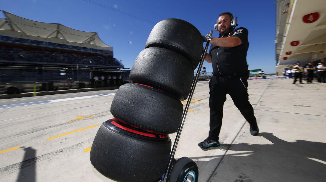 Mercedes - Formel 1 - Austin - GP USA - 22. Oktober 2016