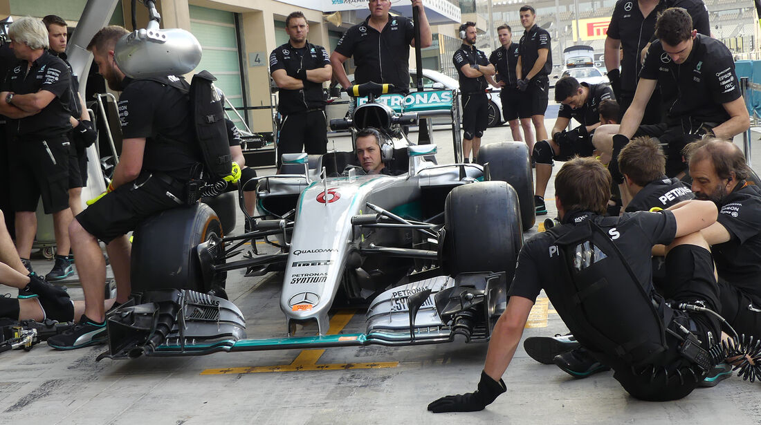 Mercedes - Formel 1 - GP Abu Dhabi - 24. November 2016