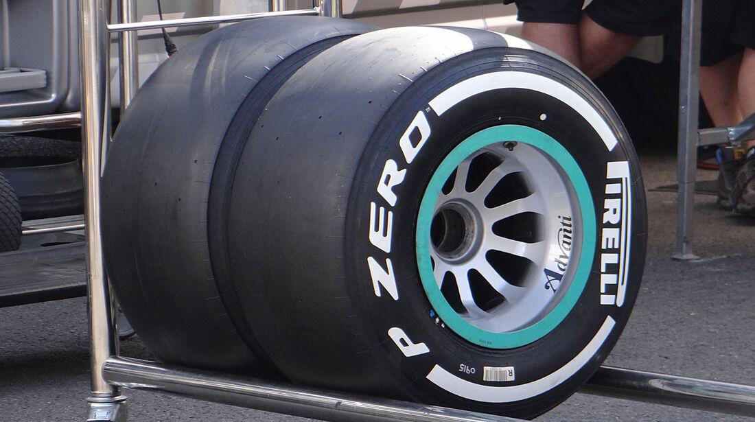 Mercedes - Formel 1 - GP Belgien - Spa-Francorchamps - 22. August 2013