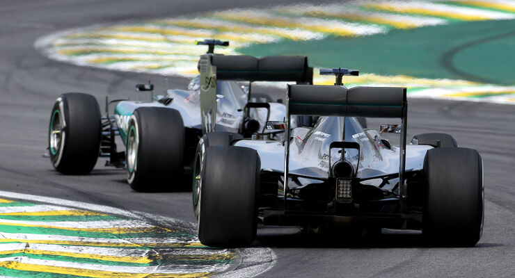 Mercedes  - Formel 1 - GP Brasilien- 15. November 2015