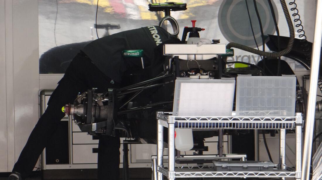 Mercedes - Formel 1 - GP China - 11. April 2013