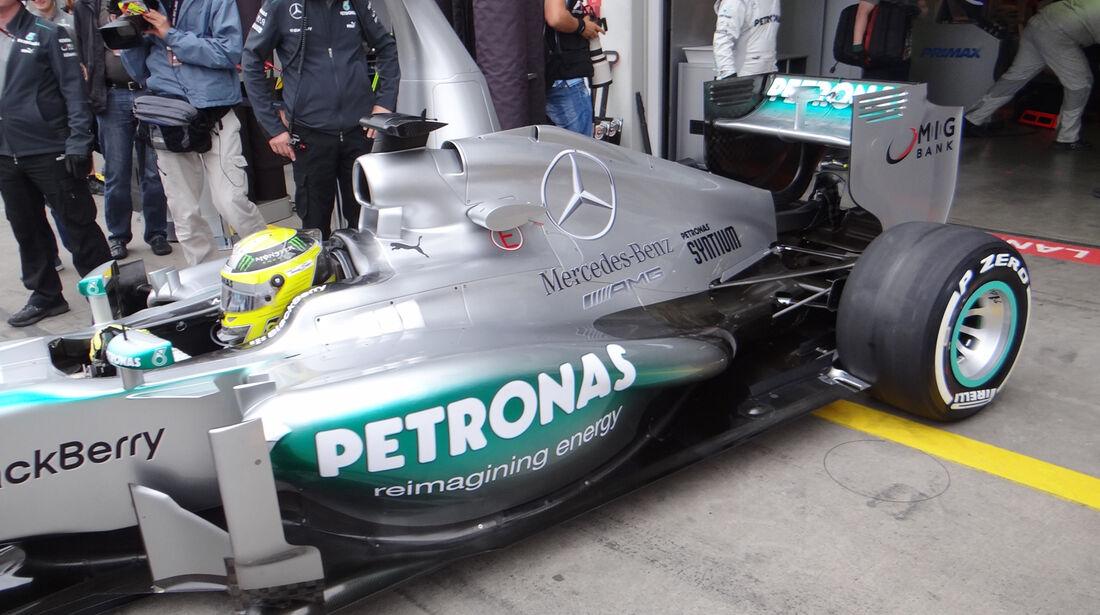Mercedes - Formel 1 - GP Deutschland - 5. Juli 2013