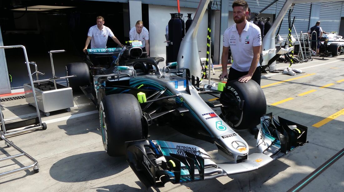 Mercedes - Formel 1 - GP Italien - 30. August 2018