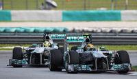 Mercedes - Formel 1 - GP Malaysia 2013