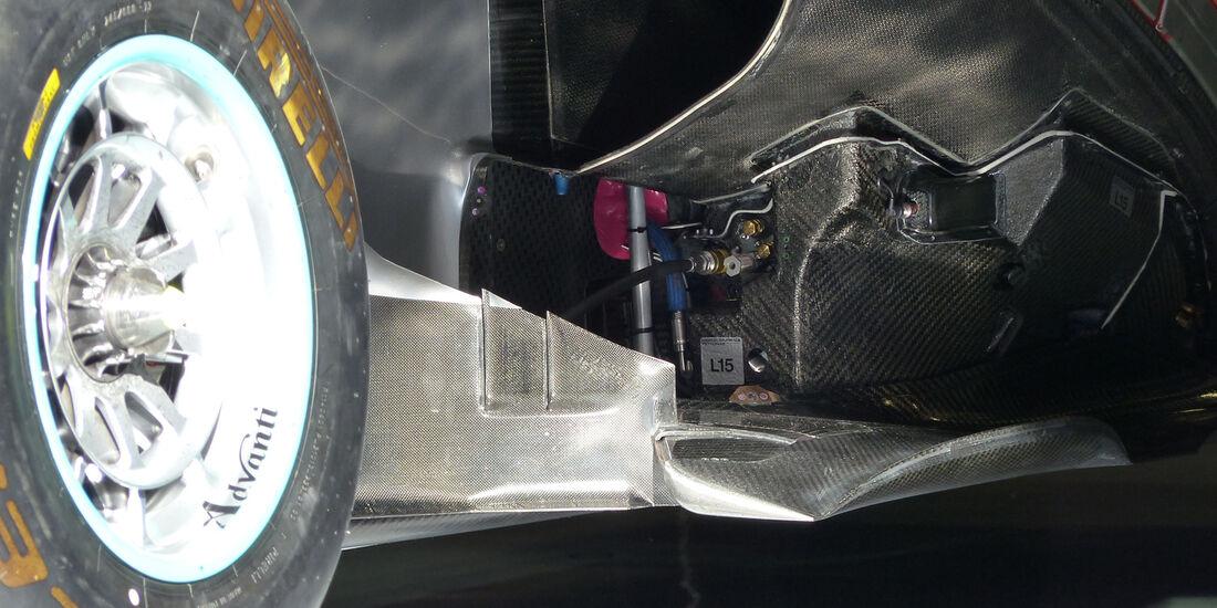Mercedes - Formel 1 - GP Spanien - Barcelona - 10. Mai 2014