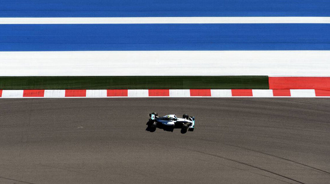 Mercedes - Formel 1 - GP USA - 1. November 2014