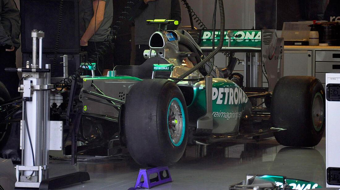Mercedes - Formel 1 - GP USA - 15. November 2013