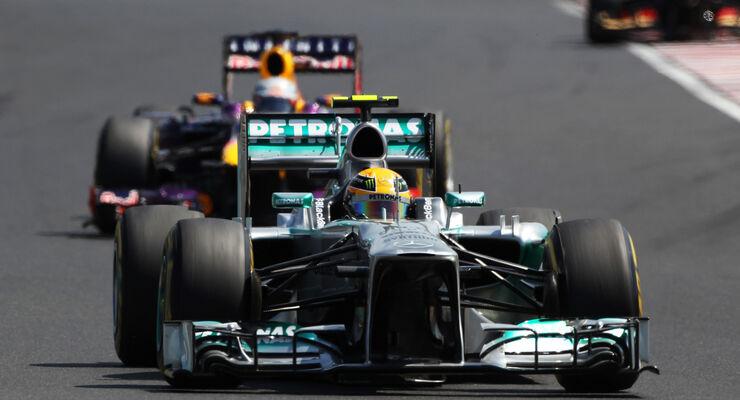 Mercedes - Formel 1 - GP Ungarn 2013