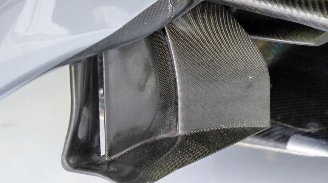 Mercedes - Formel 1 - Technik - GP Belgien 2014