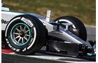Mercedes - Formel 1-Test - Barcelona - 1. März 2015