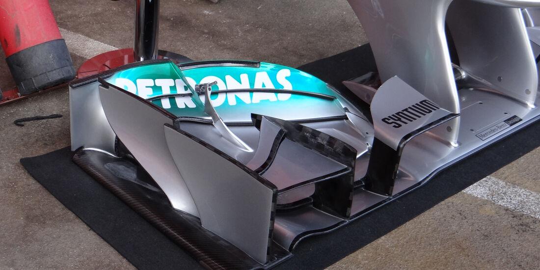 Mercedes - Formel 1 - Test - Barcelona - 2. März 2013
