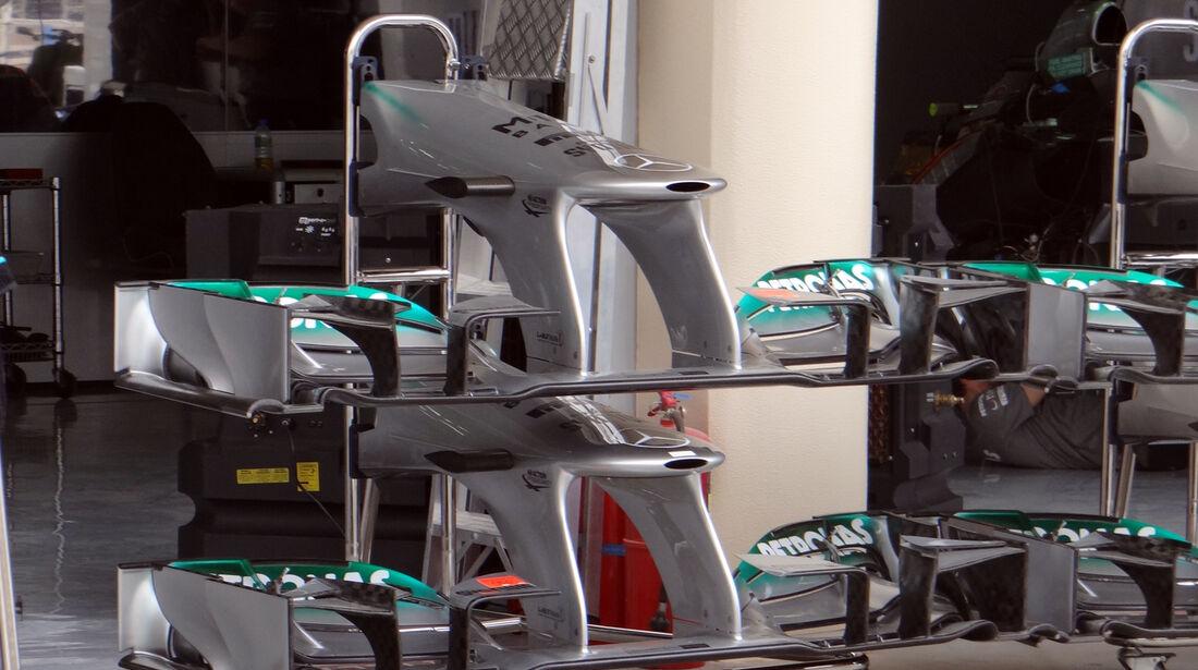 Mercedes Frontflügel - Formel 1 - GP Bahrain - 18. April 2013