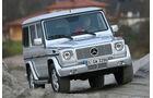 Mercedes G 320 CDI, Frontansicht