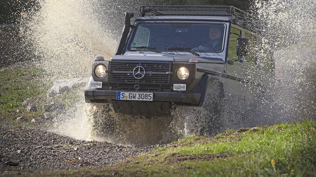 Mercedes G 461 Wasserdurchfahrt