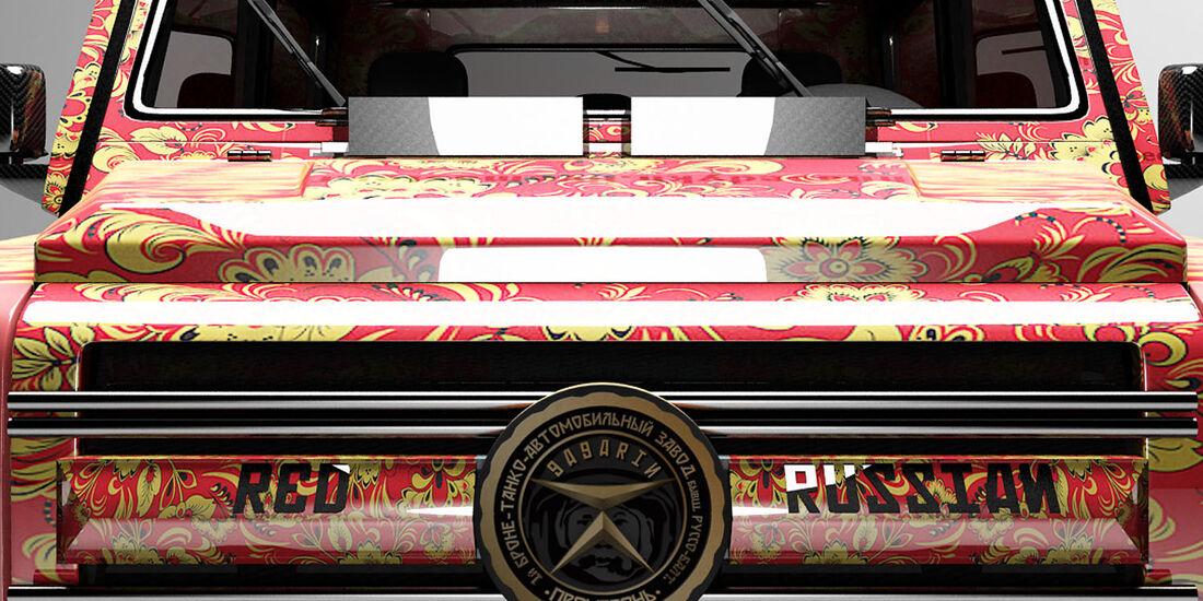 Mercedes G 63 AMG 6x6 Dartz Red Russian