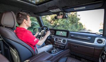 Neue Mercedes G-Klasse (2018): Test, Bilder, Preis, Daten - auto ...