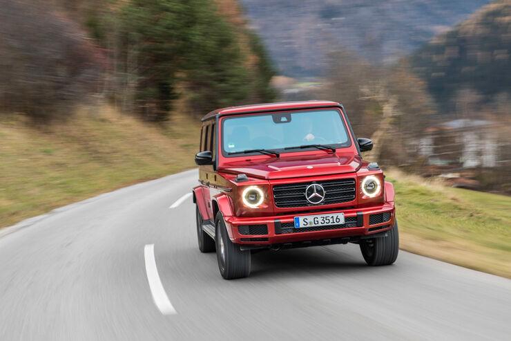 mercedes g 400d st rkere diesel version kommt 2019 auto. Black Bedroom Furniture Sets. Home Design Ideas