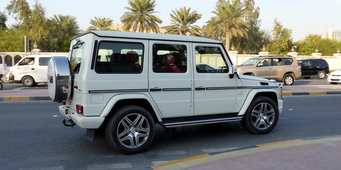 Mercedes G55 AMG - Carspotting Bahrain 2014