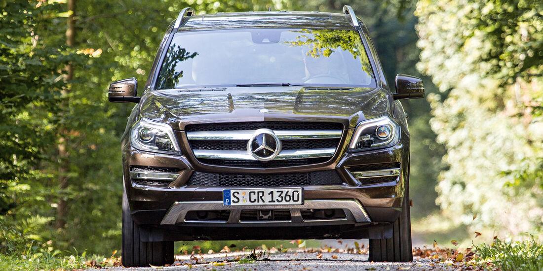 Mercedes GL, Frontansicht