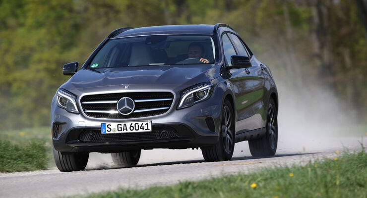 Mercedes GLA 250 4Matic, Frontansicht