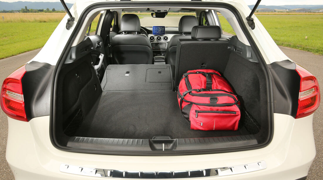 Mercedes GLA, Kofferraum