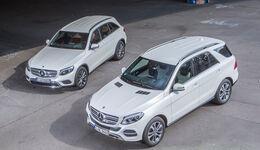Mercedes GLC 250 d, Mercedes GLE 250 d,