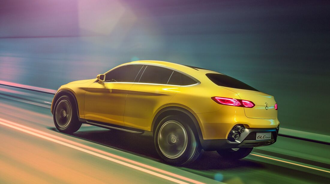 Mercedes GLC Coupé Concept
