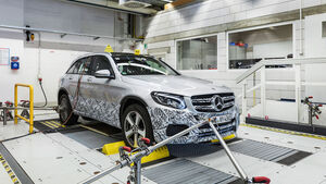 Mercedes GLC F-CELL Erprobung