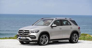 Mercedes GLE 2019 Weltpremiere