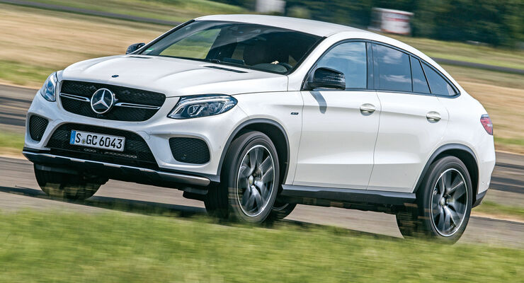 mercedes gle 450 coup amg 4matic im test auto motor und sport. Black Bedroom Furniture Sets. Home Design Ideas