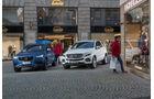 Mercedes GLE 500e, Volvo XC90 T8, Impression