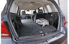 Mercedes GLK 220 CDI, Kofferraum, Ladefläche