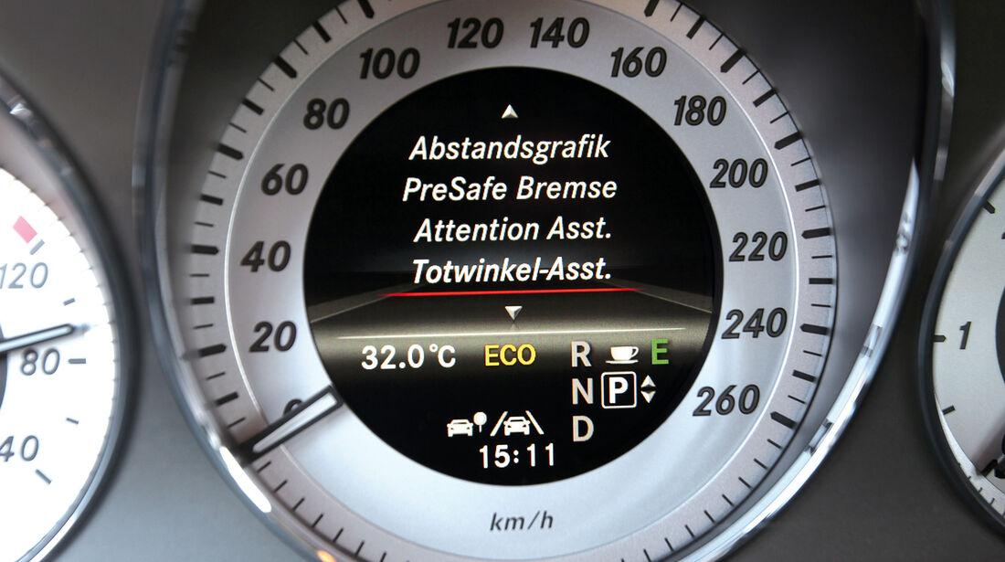 Mercedes GLK 250 Bluetec 4-Matic, Rundinstrument